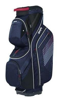 Ping Golf Traverse Cart Bag Navy Red Whi. d21ffd96e2e8a