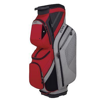 Ping Golf Traverse Cart Bag Silver/Red 2018