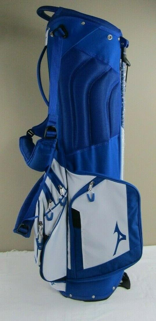 Great Carry/Stand Golf Bag, Staff, Blue/White,