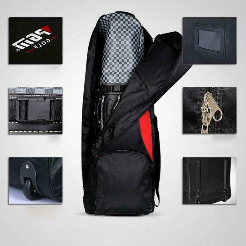 PGM-HKB001RED Golf Cover-Double Waterproof Black