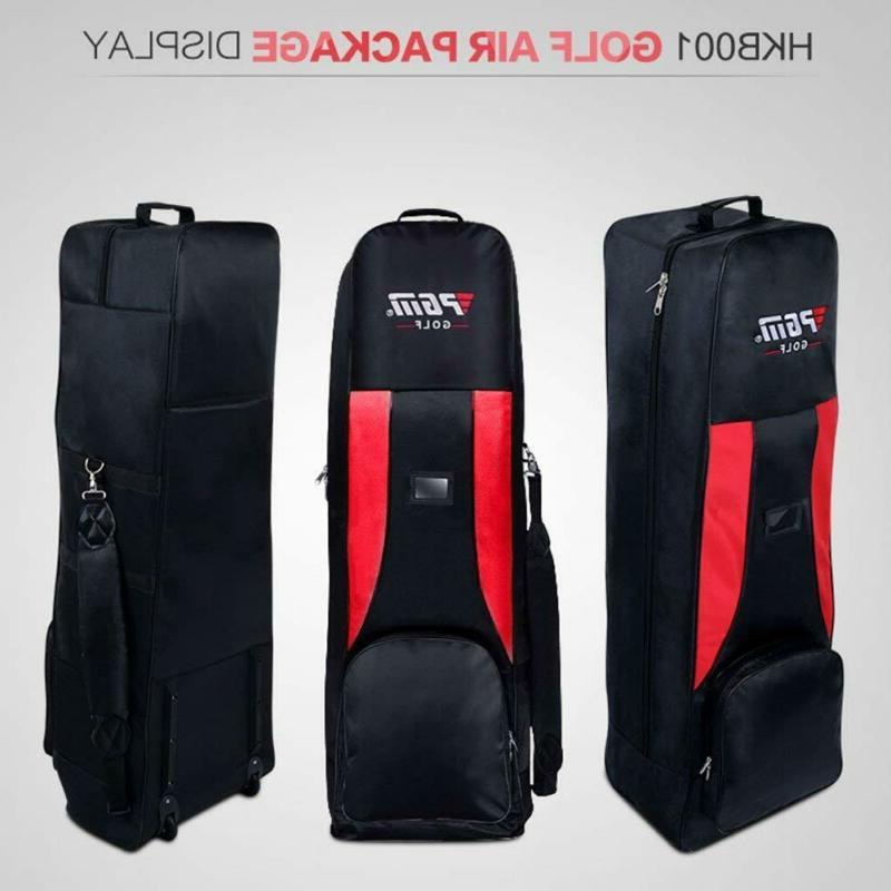 PGM-HKB001RED Golf Travel Cover-Double Deck, Waterproof Black