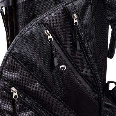 Hyper-Lite Golf Bag w/Shoulder Cover Black