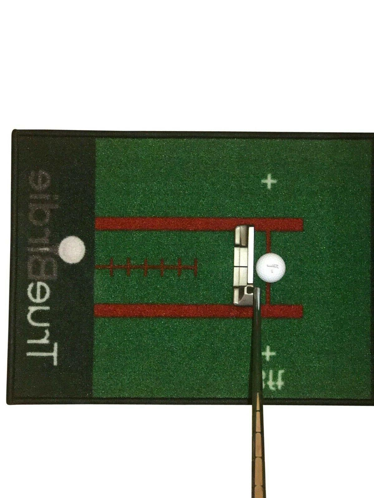 Indoor Putting Golf with Travel Bag Putt Alignment