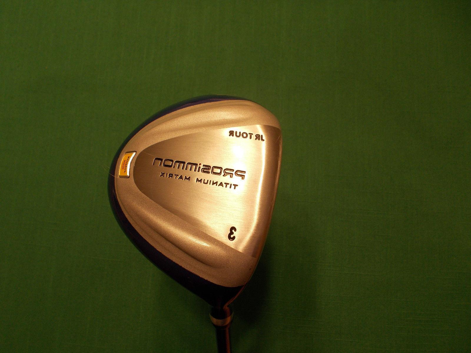 PROSIMMON JR FAIRWAY DRIVER WITH HEADCOVER - - NEW!!!