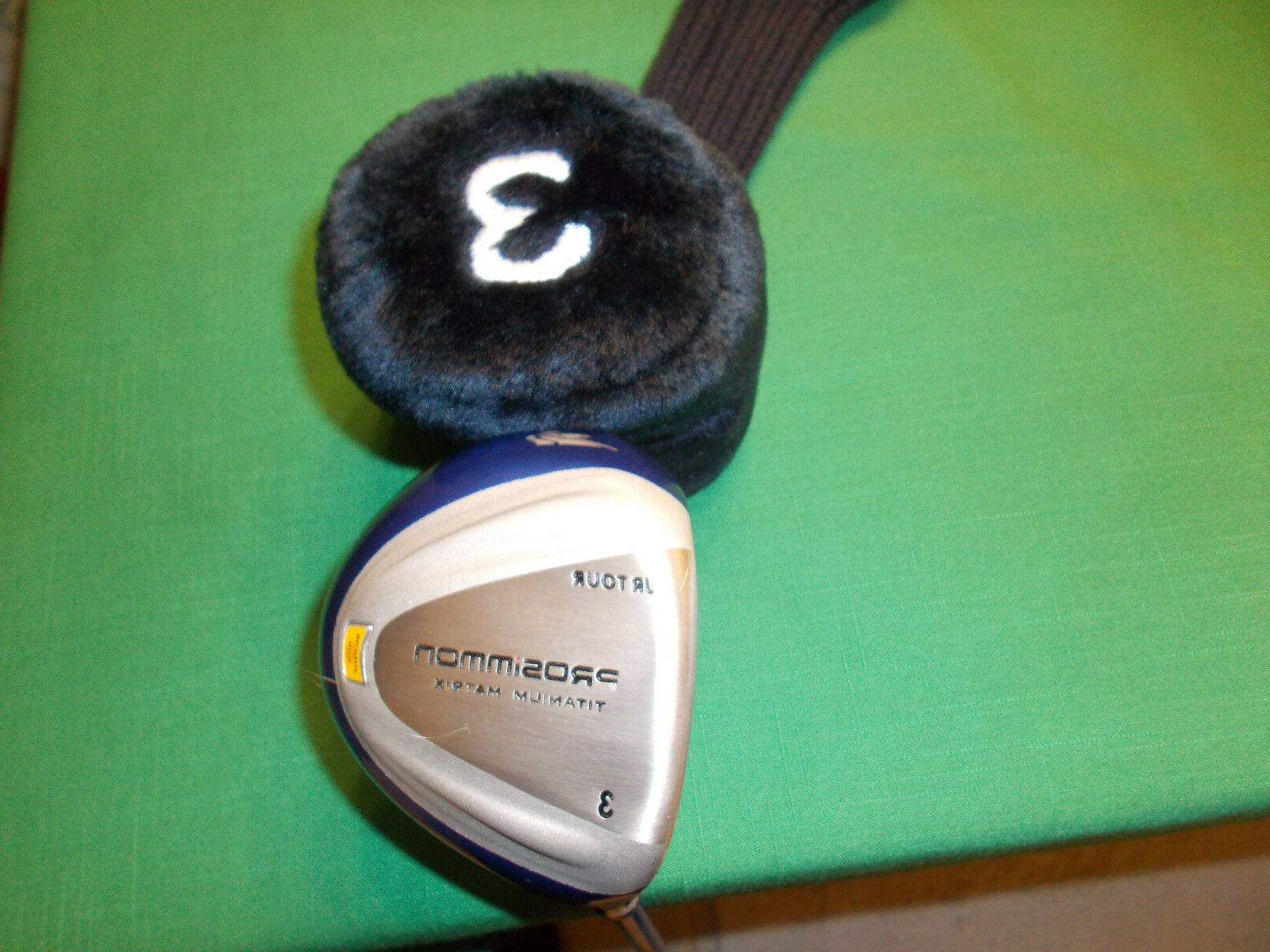 PROSIMMON JR FAIRWAY DRIVER - WITH HEADCOVER - -