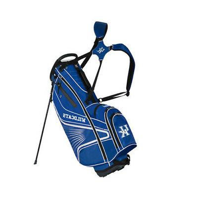 kentucky wildcats gridiron iii stand bag by