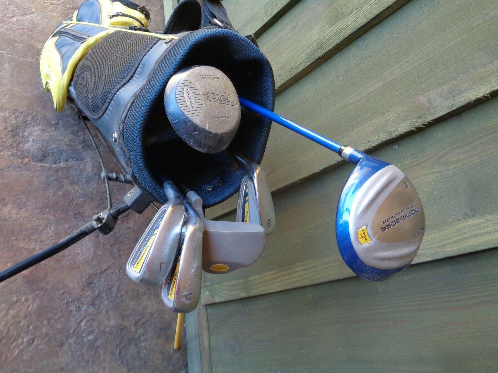 Kids Prosimmon Junior Golf Clubs Bag - 11 Yrs Right Children's Maxfli
