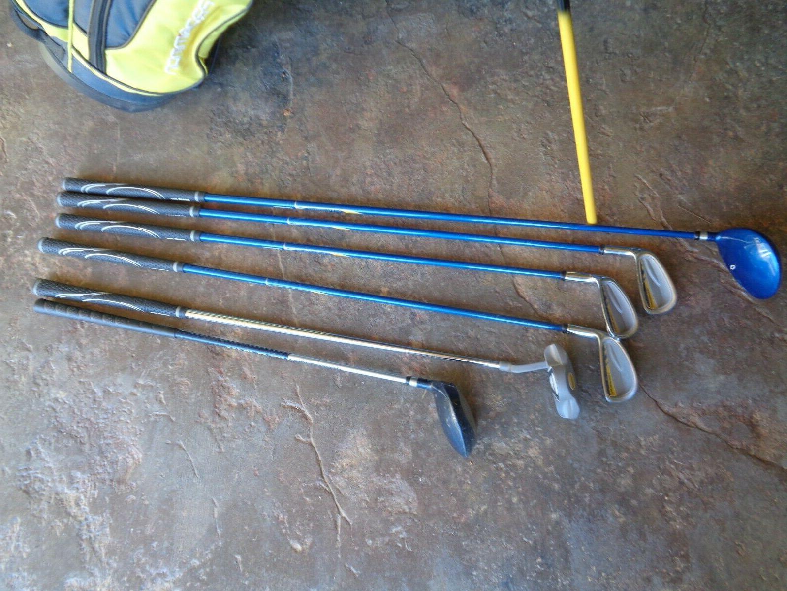 Kids Prosimmon Junior Golf Clubs & Bag 7 - 11 Children's Maxfli