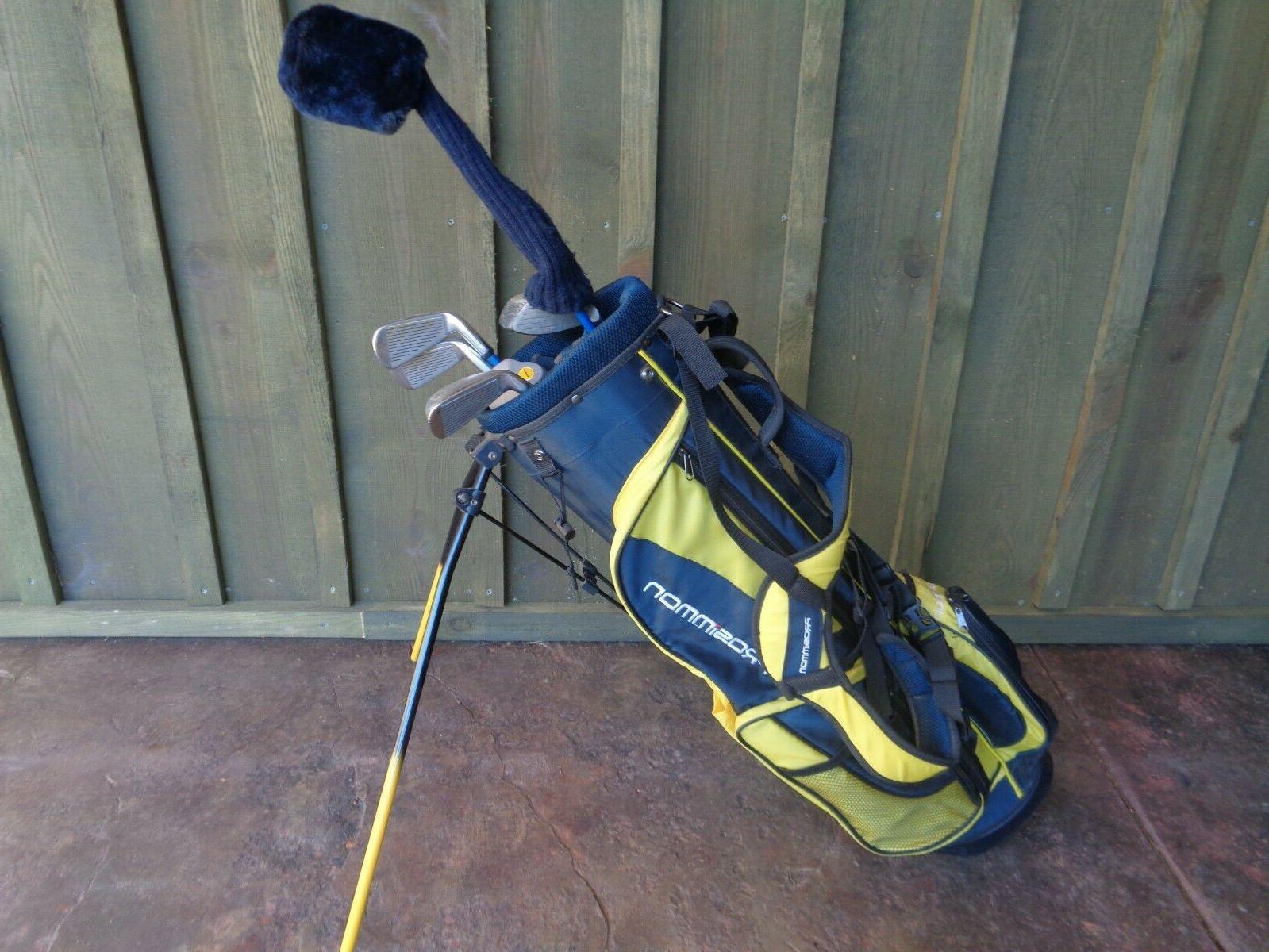 kids junior golf clubs and bag 7