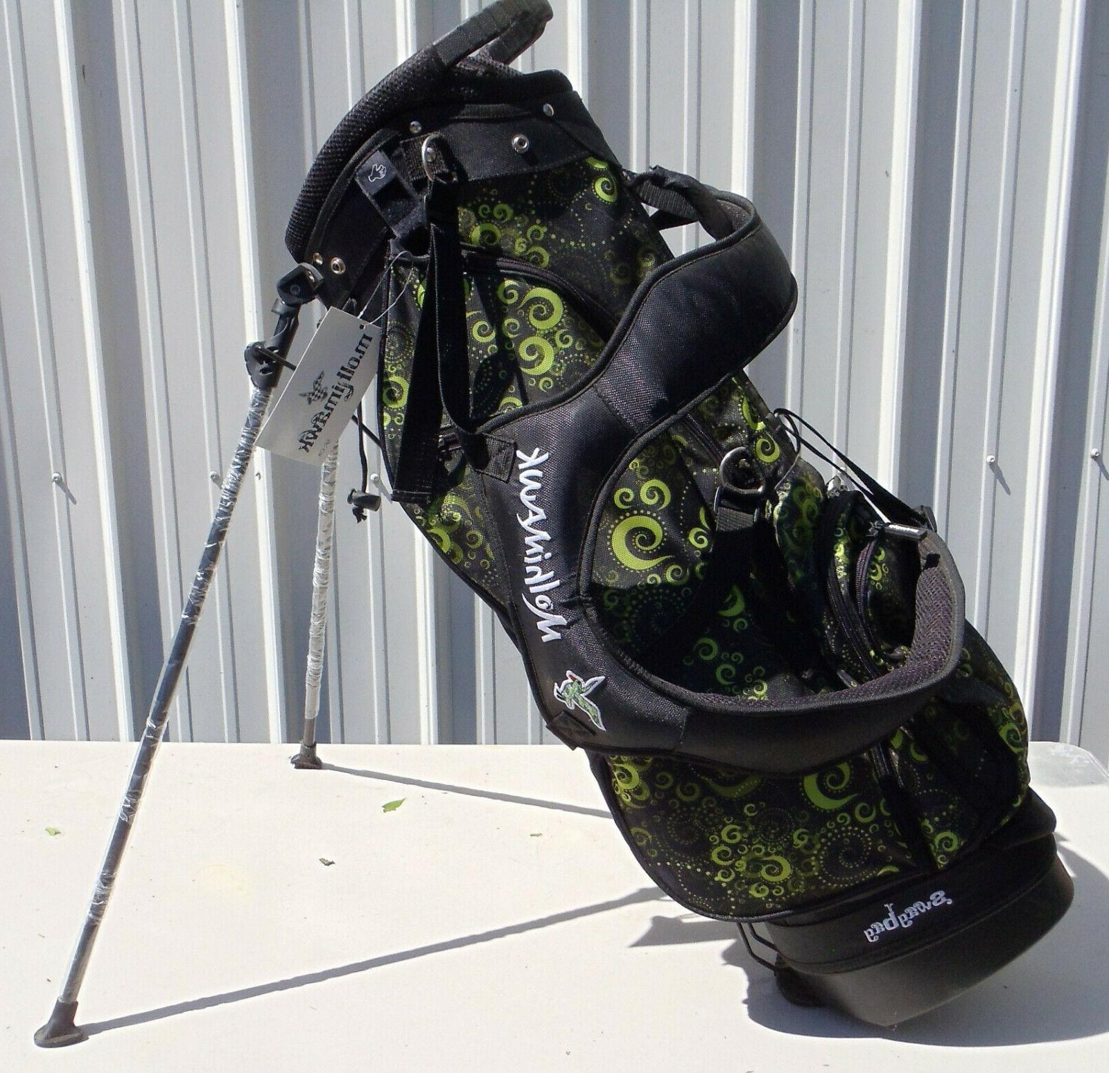 ladies swag golf stand bag paisley design