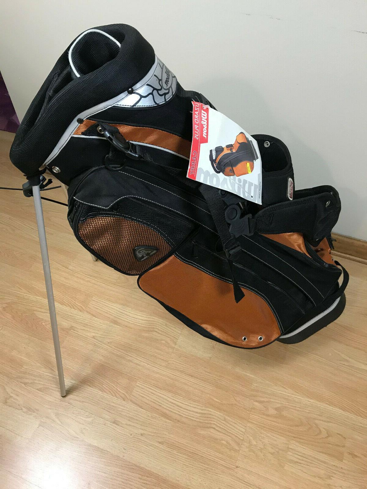 lizard plus stand carry golf bag copper