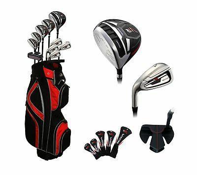 m5 mens 17 piece complete golf clubs