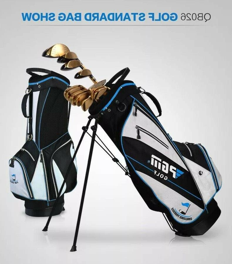 Manufacturers golf stand bag & stand portable