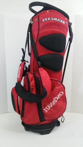 OGIO Men's Red/Black Cincinnati Golf Bag
