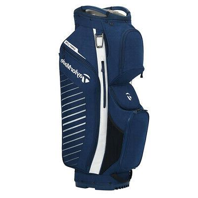 NEW TaylorMade 2020 Cart Lite Navy Flag/White 14-Way Cart Go
