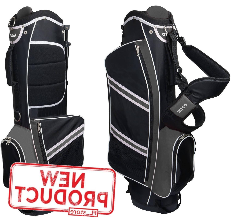 mens golf bag 5 way divider equipment