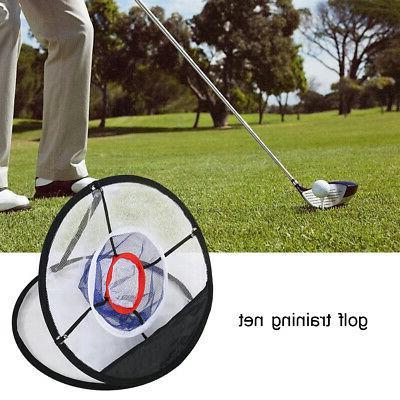 mesh foldable golfs chipping net balls collector