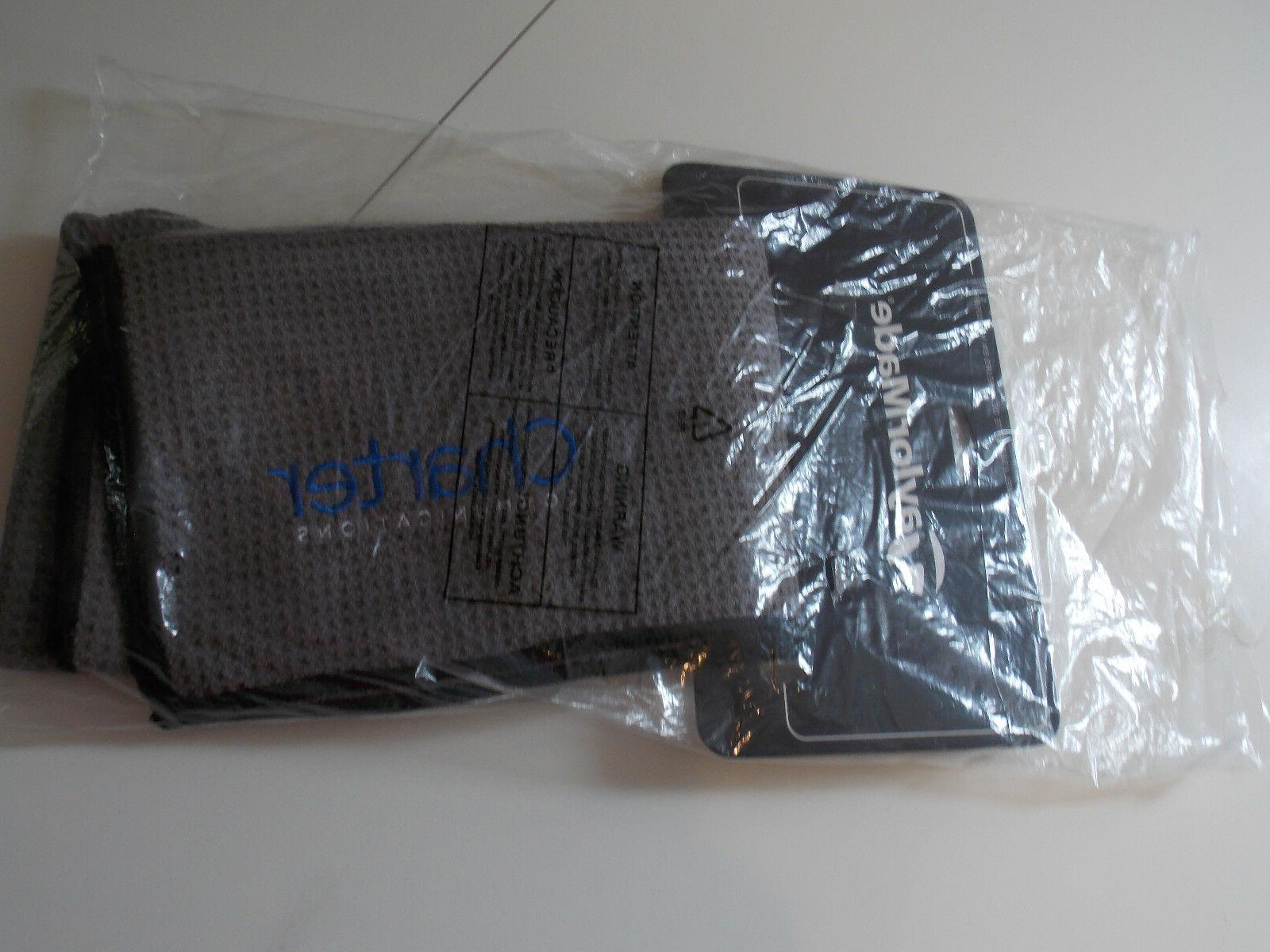 "TaylorMade Microfiber Players TM17 Bag Accessory 17"" x Grey"