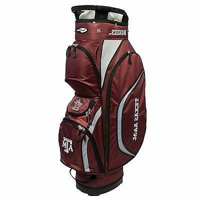 New NCAA Team Golf Texas A & M Aggies Clubhouse Golf Cart Ba