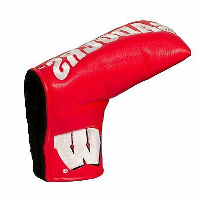 NCAA Wisconsin Badgers Golf Vintage Magnetic Blade Putter Co