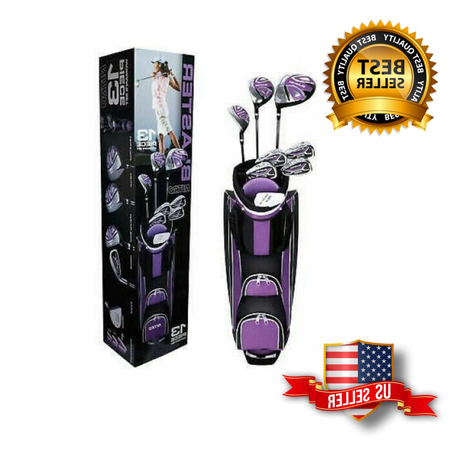 new 13 piece ladies golf club set