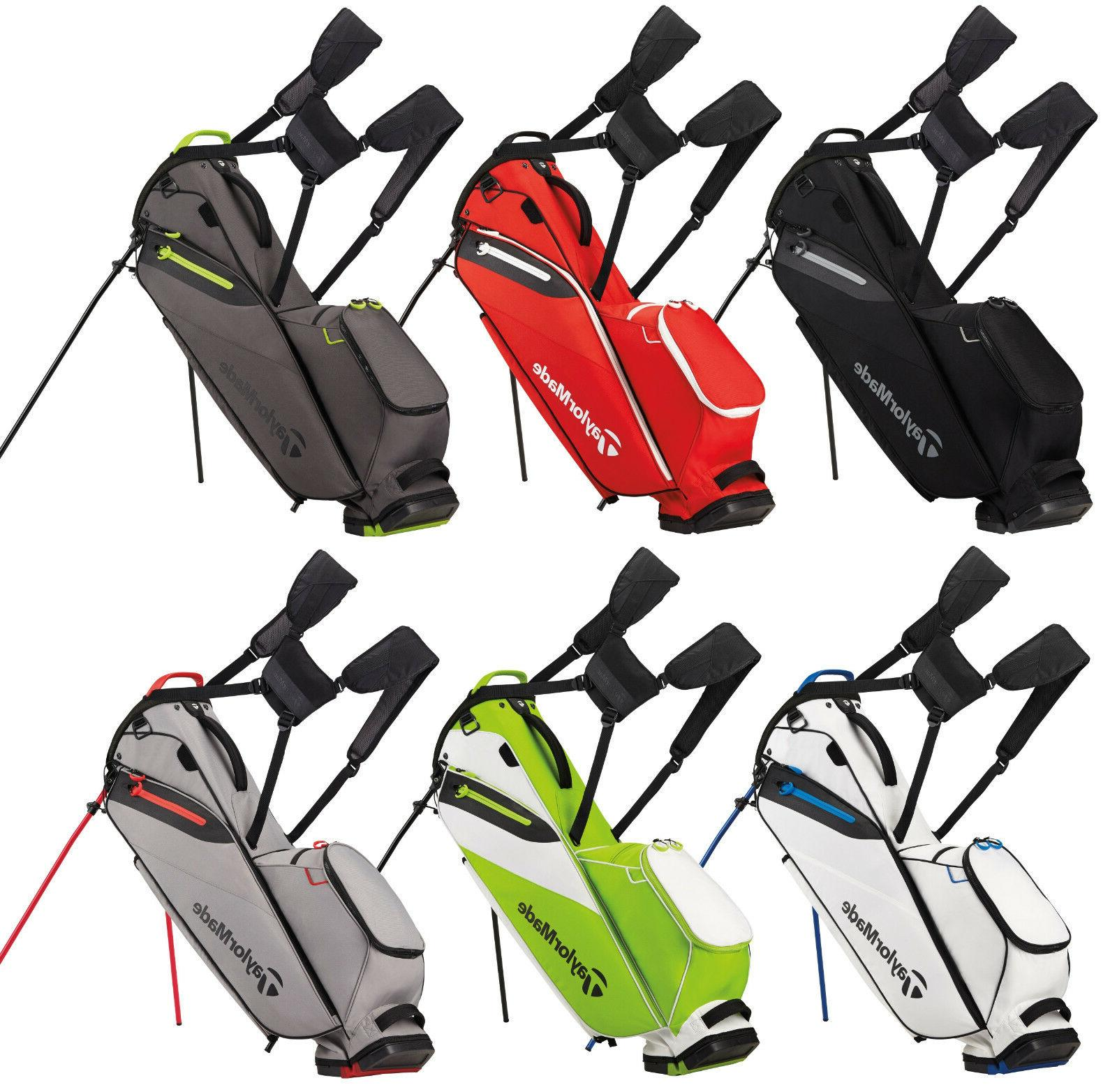 New 2017 TaylorMade Flextech Lite Stand Bag - Pick Your Colo