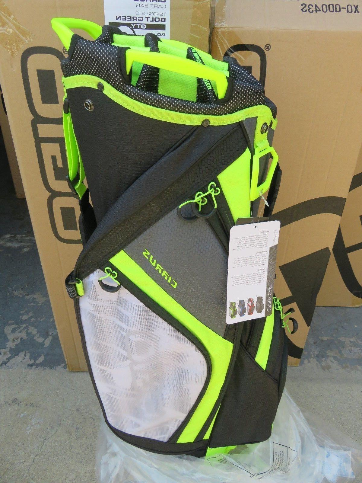 new 2018 cirrus bolt green 16 way