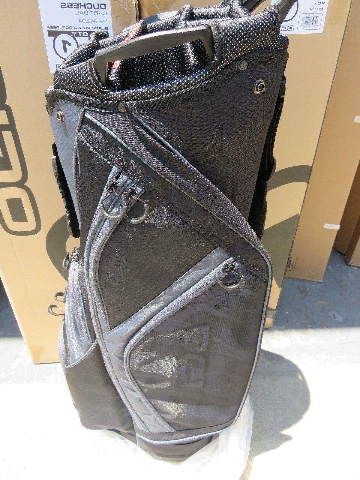 NEW Ogio CIRRUS SOOT Way Divider CART Bag