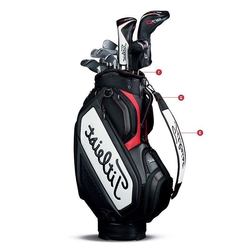 new 2018 mid staff golf cart bag