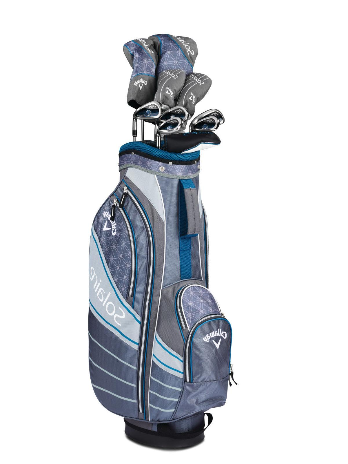 NEW Callaway Solaire 8 Piece Ladies Golf Package Set Your Color!