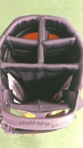 New 2019 Tech 5-Way Golf Bag Orange