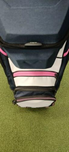 New Uptown Cart Bag Floral/Navy/White