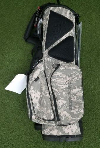 New Taylormade 5-Way Flex Tech Golf Stand Bag CAMO!!