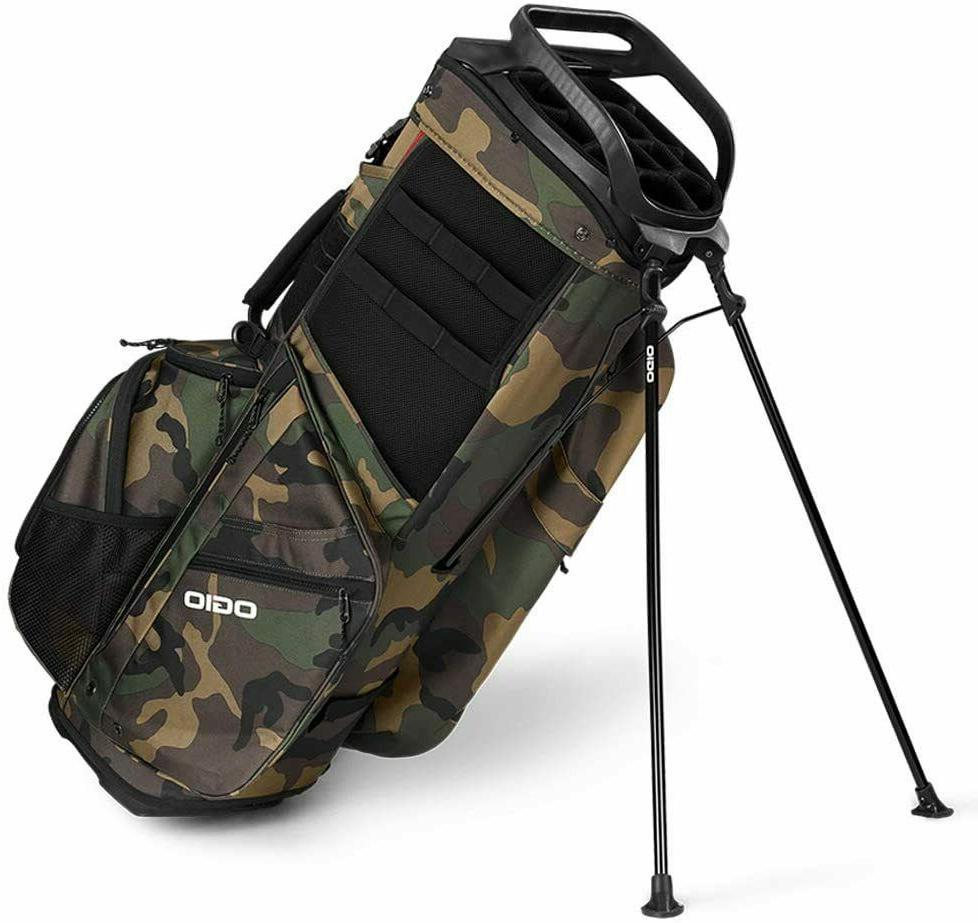 New Ogio Alpha 514 Golf Bag 14-way - Woodland