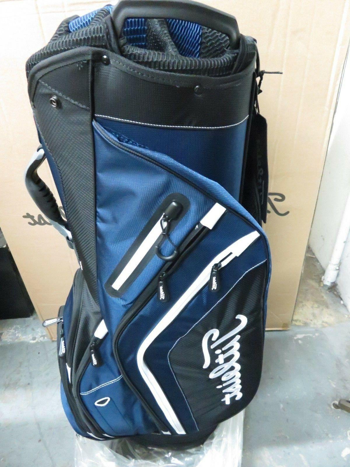 NEW Titleist Blue Black White Lightweight Cart Bag TB6CT5 40