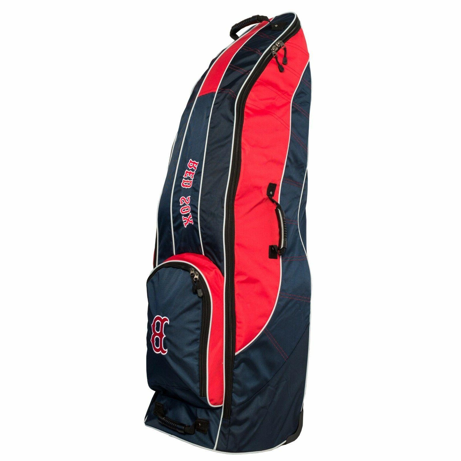 New Team Golf Boston Red Sox Golf Bag Travel Cover