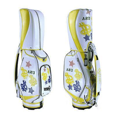 New Guiote Cash Golf  staff bag Money model caddie cart bag