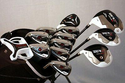 NEW CUSTOM TI-11 IRON SET 4-SW DRIVER WOODS PUTTER HYBRID BA