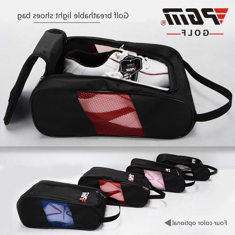 New <font><b>PGM</b></font> <font><b>Golf</b></font> Shoes <font><b>Bag</b></font> Permeable Female High-grade Light Practical <font><b>Travel</b></font> Pack Shoe Pouch Waterproof Dustproof