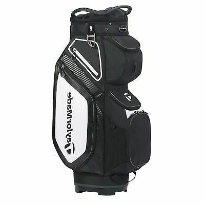 New TaylorMade Golf- 2020 CART 8.0  Bag Black/White/Charcoal