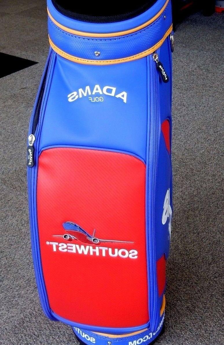 """Adams Golf 9.5"""" Cart 6-Way Divider Blue/Red/Yellow"""
