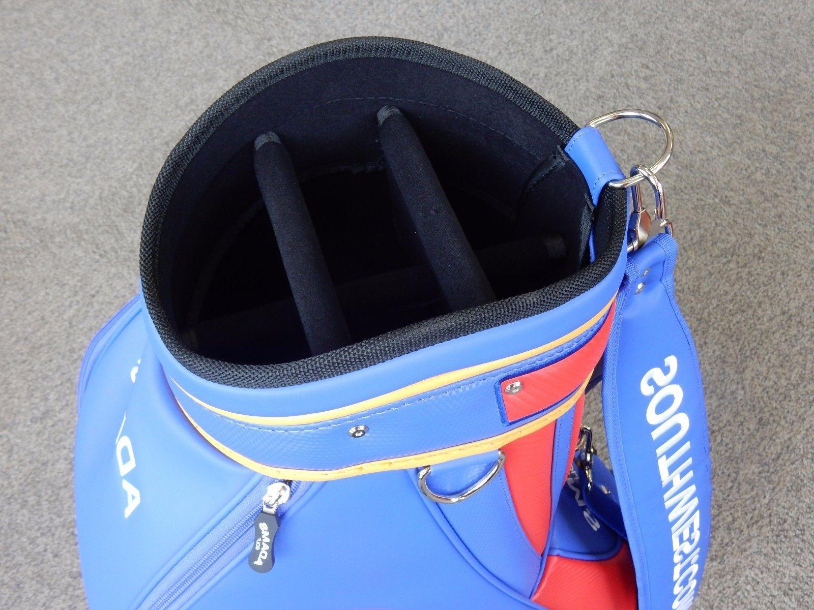 Adams Golf Staff Cart 6-Way Divider Blue/Red/Yellow