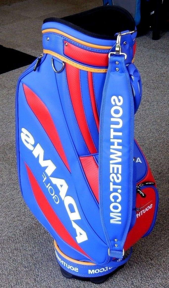 Adams Golf Cart Blue/Red/Yellow RARE!