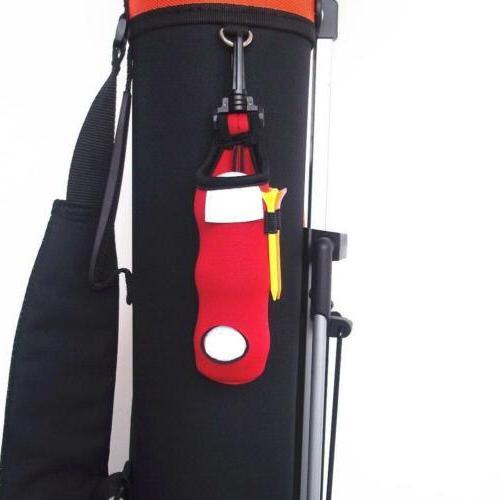 NEW Golf Balls Accessories Pouch Bag Holder Pocket Clip