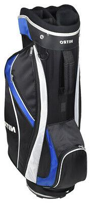 New Nitro Golf- Cart Bag Black