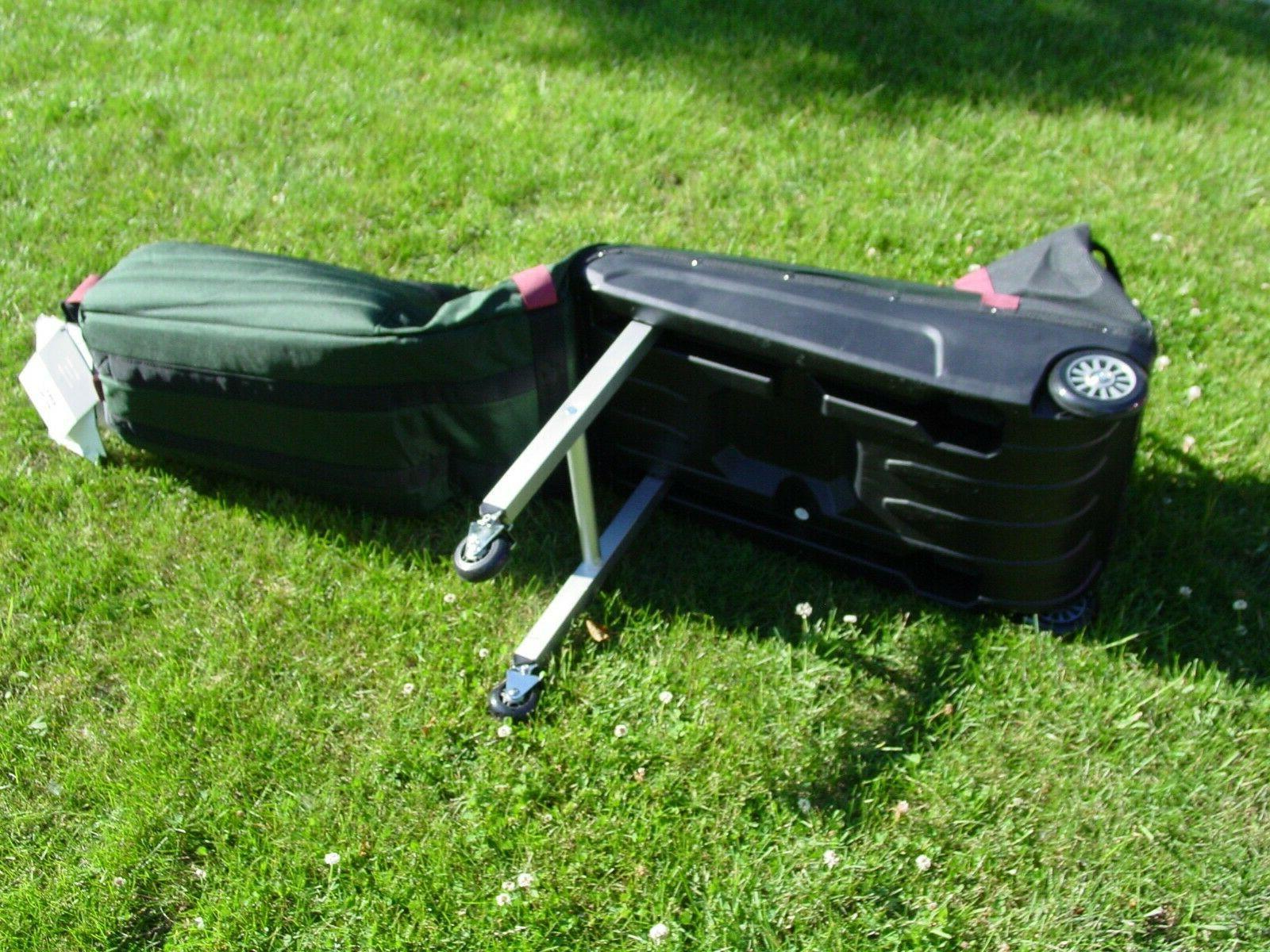 Sun Mountain Golf Club Glider Meridian Rolling Travel Bag Wh