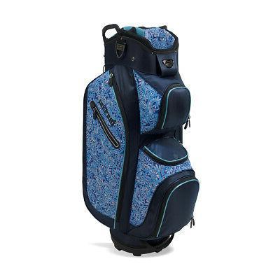 New Burton Golf- Ladies LDX Cart Bag Navy/Turquoise/Nautilus