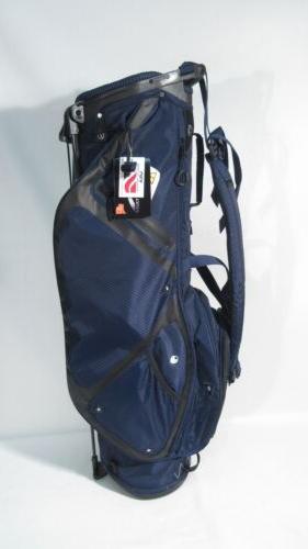 new golf lightweight blue stand bag w