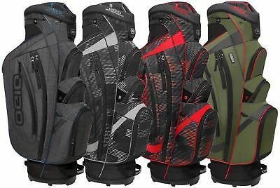 NEW Ogio Golf Shredder Cart / Carry Bag '2016' 15-way Top Yo