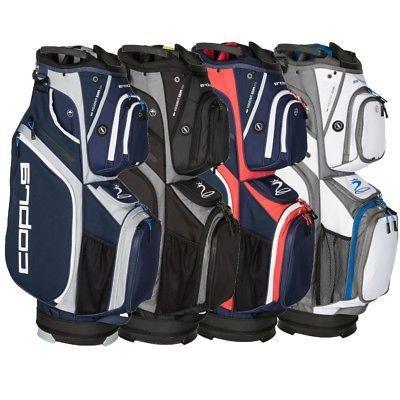 NEW Cobra Golf Ultralight Cart / Carry Bag 2018 14-Way Top -